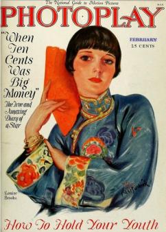 Photoplay Feb 1927 Louise Brooks