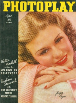 Photoplay April 1937 Ginger Rogers