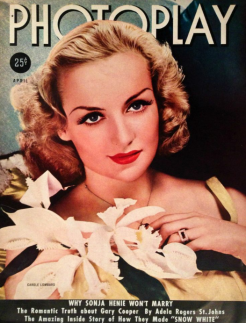 Photoplay April 1938 Carole Lombard