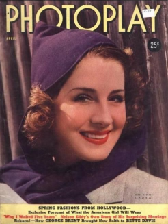 Photoplay April 1939 Norma Shearer