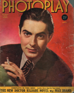 Photoplay April 1940 Tyrone Power