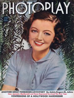 Photoplay August 1938 Myrna Loy