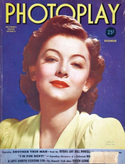 Photoplay December 1939 Myrna Loy