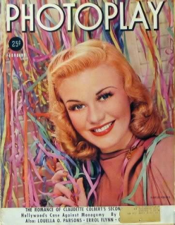 Photoplay February 1938 Ginger Rogers