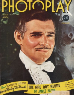 Photoplay February 1940 Clark Gable