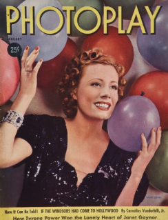 Photoplay January 1938 Irene Dunne