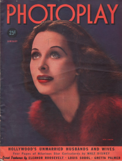 Photoplay January 1939 Hedy Lamarr