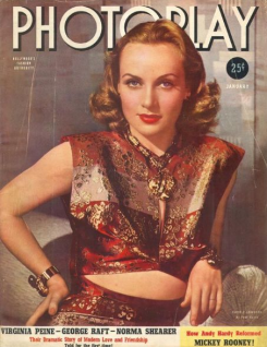 Photoplay January 1940 Carole Lombard