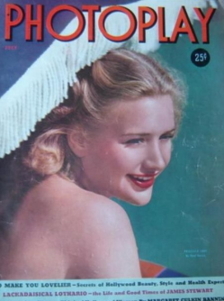 Photoplay July 1939 Priscilla Lane