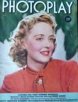 Photoplay June 1939 Bette Davis