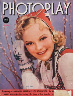 Photoplay March 1938 Sonja Henie