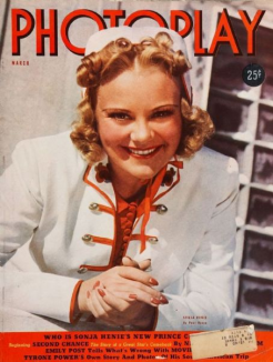 Photoplay March 1939 Sonja Henie