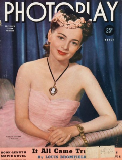 Photoplay March 1940 Olivia