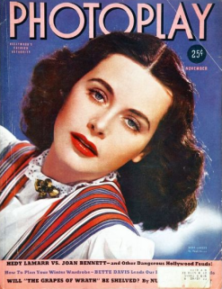 Photoplay November 1939 Hedy Lamarr