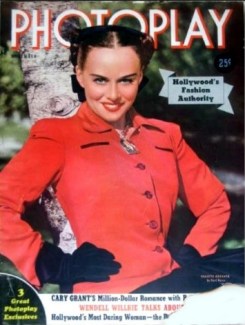 Photoplay November 1940 Paulette Goddard