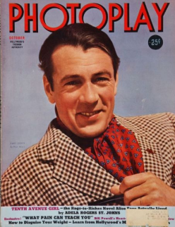 Photoplay October 1939 Gary Cooper