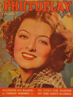 Photoplay september 1937 Myrna Loy