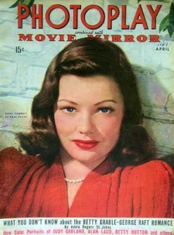 Photoplay April 1943 Tierney