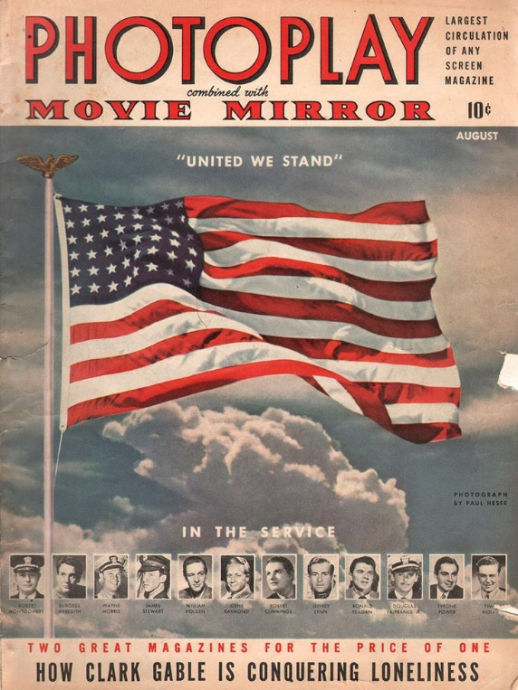 Photoplay August 1942 United Flag