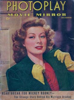 Photoplay December 1942 Greer Garson
