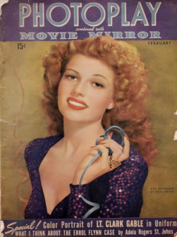 Photoplay February 1943 Hayworth