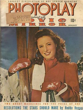 Photoplay January 1942 Stanwyck