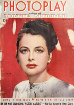 Photoplay January 1943 Lamarr