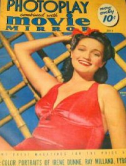 Photoplay July 1941 Lamour