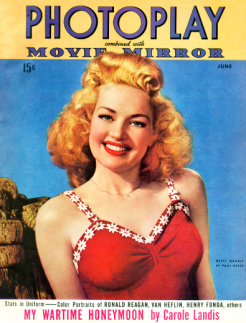 Photoplay June 1943 Betty Grable