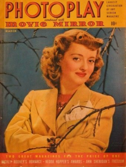 Photoplay March 1942 Bette Davis
