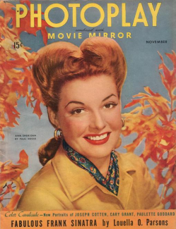 Photoplay November 1943 Sheridan