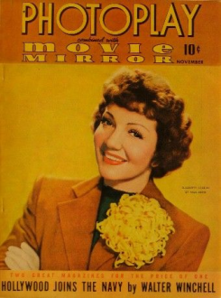 Photoplay October 1941 Colbert