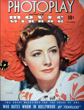 Photoplay October 1941 Dunne