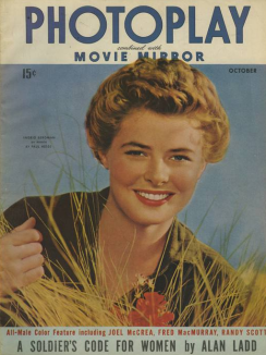 Photoplay October 1943 Bergman