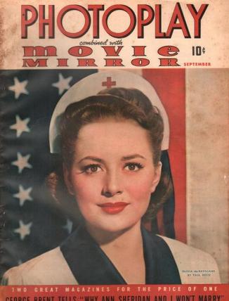 Photoplay September 1941 Olivia