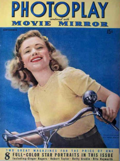 Photoplay September 1942 Priscilla Lane