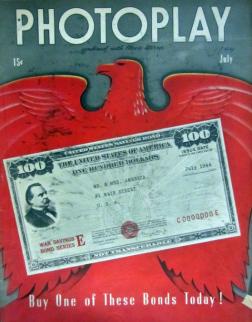 Photoplay July 1944 patriotic