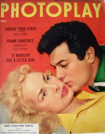 Photoplay 1954 Tony Curtis Leigh