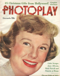 Photoplay December 1950 June Allyson