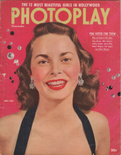 Photoplay December 1951 Janet Leigh