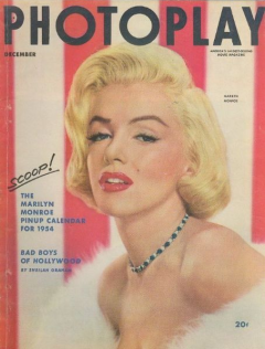 Photoplay December 1953 Marilyn Monroe