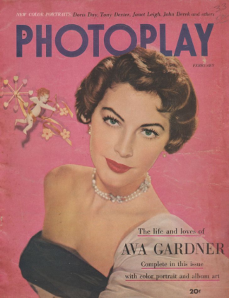 Photoplay February 1952 Ava Gardner