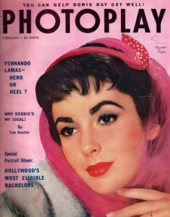 Photoplay February 1954 Elizabeth Taylor