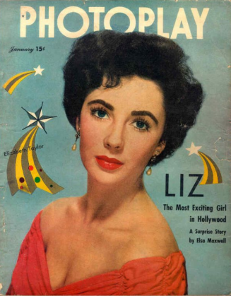 Photoplay January 1950 Elizabeth Taylor