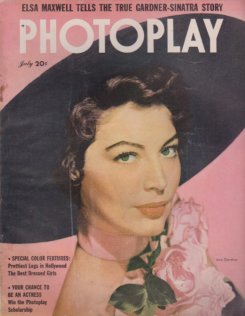 Photoplay July 1951 Ava Gardner