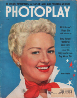 Photoplay July 1952 Betty Grable