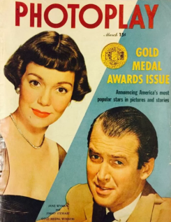 Photoplay March 1950 Wyman Stewart