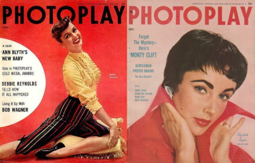 Photoplay nov Dec 1954 Debbie Liz