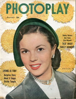 Photoplay November 1950 Shirley Temple