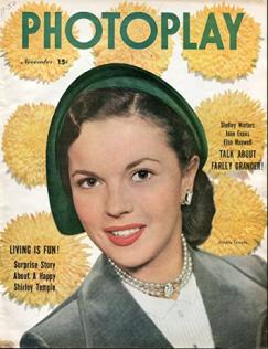 Photoplay November 1950 Shirley Temple